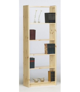 "Etagère modulable 6 tablettes en pin ""RADIANCE 6"""