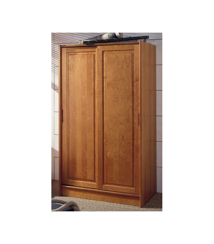 137 Armoire Pin Massif Porte Coulissante armoire pin massif porte coulissante valdiz, armoire  # Armoire Bois Massif Porte Coulissante