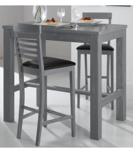 "Table scandinave haute en bois ""VOLDA HT"""