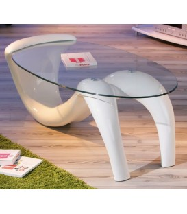 "Table basse verre  ""BELLA"""