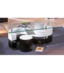 "Table basse verre  ""SERENA"""