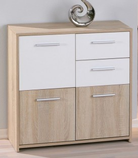 "Commode scandinave 3 portes ""EBOLI"""