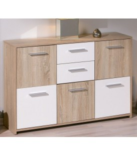 "Commode scandinave 5 portes ""ELVEZIA"""