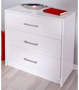 "Commode 3  tiroirs en pin ""NEW YORK"""
