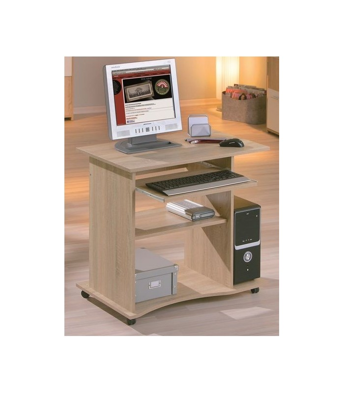 Petit bureau informatique simple et moderne for Petit bureau design
