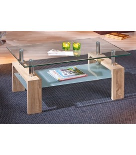"Table basse verre ""LOANA"""