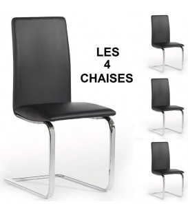 "Lot de 4 chaises ""ANGELO"""