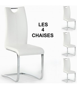 "Lot de 4 chaises ""SABA"""