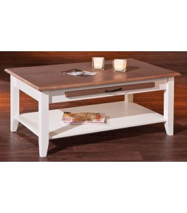 "Table basse en pin ""CASSALA 7-2"""