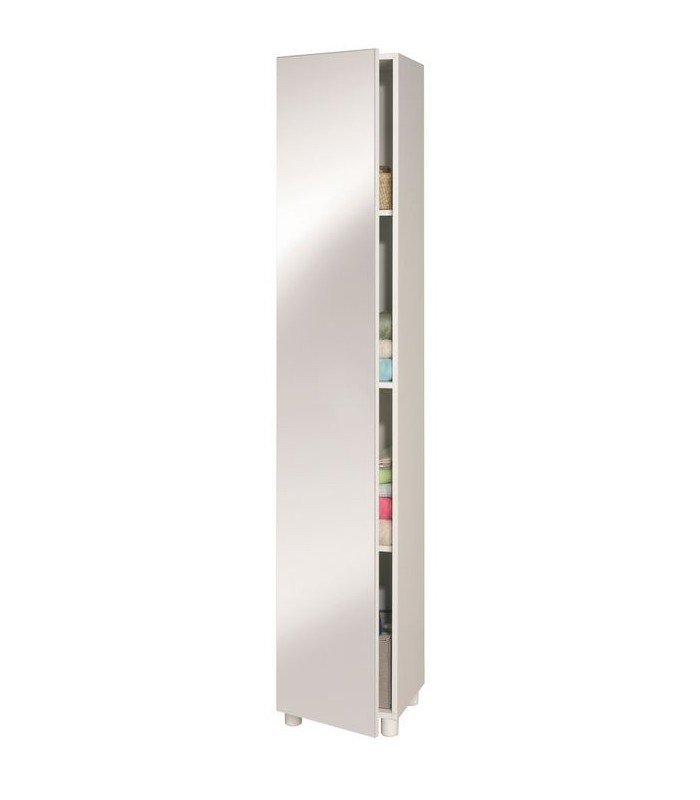 Colonne simple porte miroir 35cm mobil 39 in for Porte simple