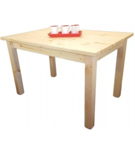 "Table en pin ""COOK"""