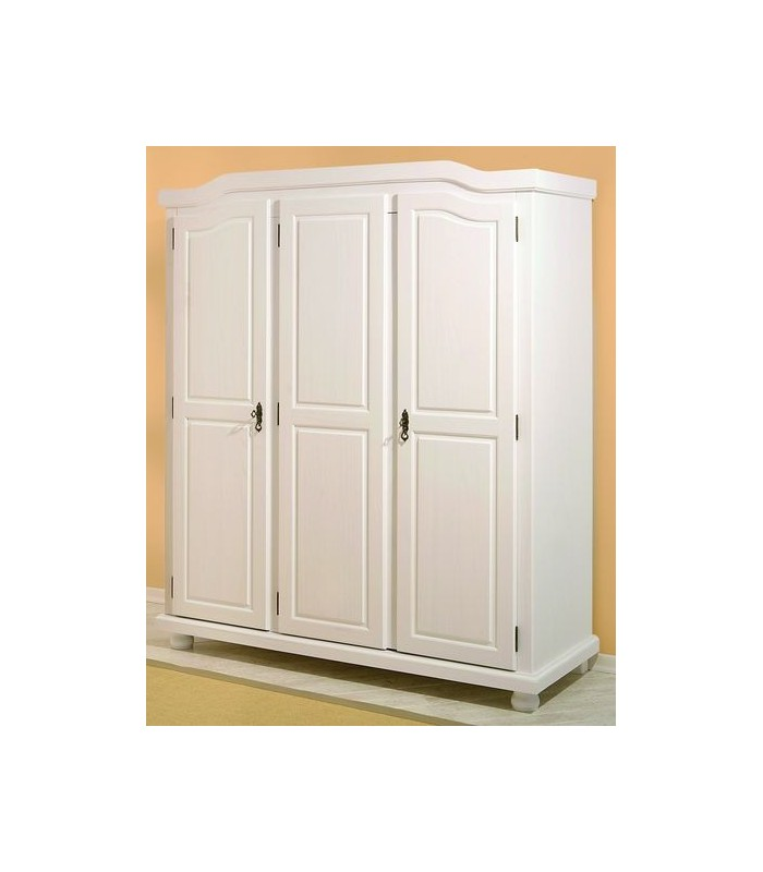 armoire bois blanc my blog. Black Bedroom Furniture Sets. Home Design Ideas